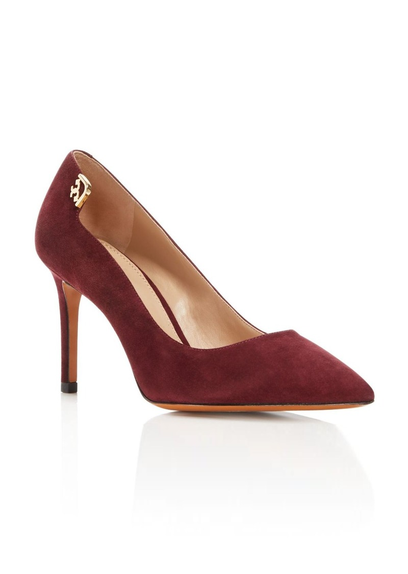 Tory Burch Elizabeth Pointed Toe High Heel Pumps