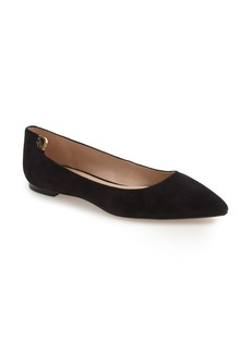 Tory Burch 'Elizabeth' Pointy Toe Flat (Women)