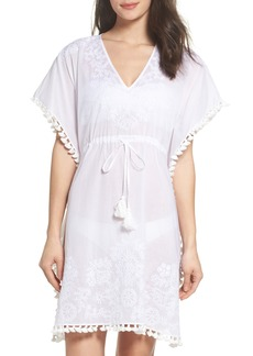 Tory Burch Embroidered Cover-Up Caftan