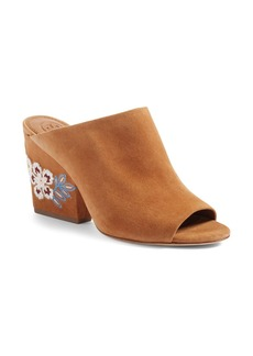 Tory Burch Embroidered Floral Mule (Women)