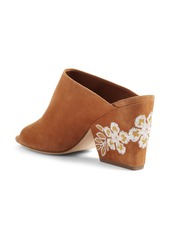 ebeeaa62be6719 On Sale today! Tory Burch Tory Burch Embroidered Floral Mule (Women)