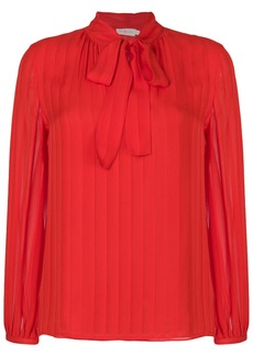 Tory Burch Emma bow blouse - Red