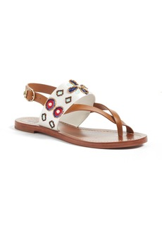 Tory Burch Estella Embellished Sandal (Women)