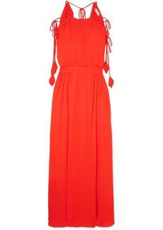 Tory Burch Evaline chiffon maxi dress
