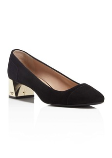 Tory Burch Evelyn Block Heel Pumps - 100% Exclusive