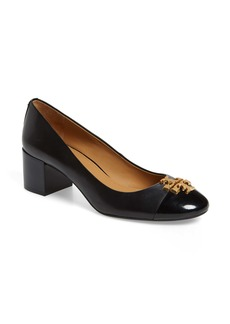 Tory Burch Everly Cap Toe Pump (Women)