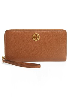Tory Burch Everly Leather Passport Continental Wallet