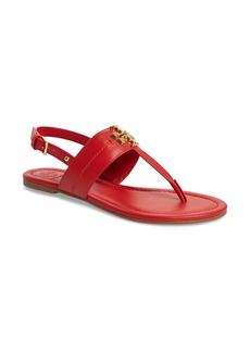 Tory Burch Everly T-Strap Flat Sandal (Women)