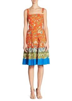 Tory Burch Fernanda Pleated Dress