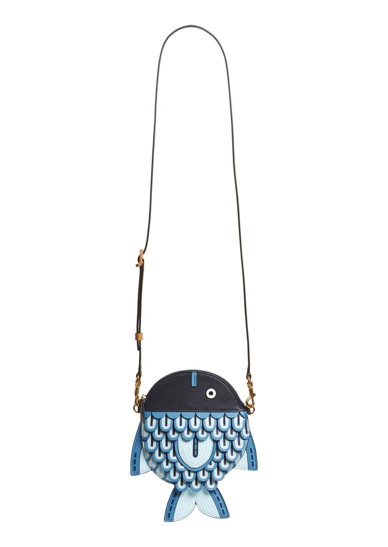 d9ac1ecbc42 On Sale today! Tory Burch Tory Burch Fish Crossbody Bag