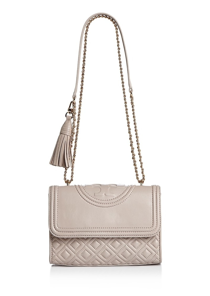 Tory Burch Tory Burch Fleming Convertible Small Leather Shoulder Bag ... 12dded1c9ba5f