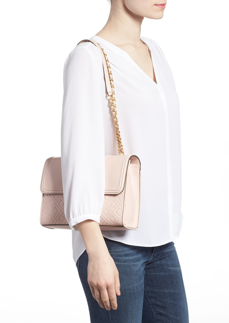 best selling 100% authenticated shop for genuine Tory Burch Tory Burch Fleming Leather Convertible Shoulder Bag   Handbags