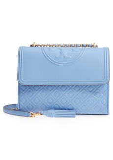 Tory Burch Fleming Leather Convertible Shoulder Bag