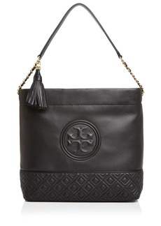 Tory Burch Fleming Leather Hobo