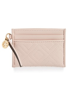 Tory Burch Fleming Leather Slim Card Case