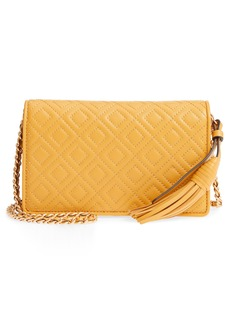 Tory Burch Fleming Leather Wallet/Crossbody