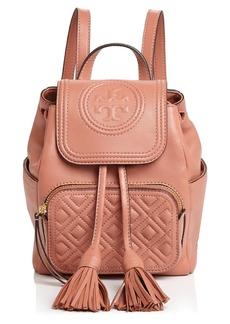 Tory Burch Fleming Mini Leather Backpack