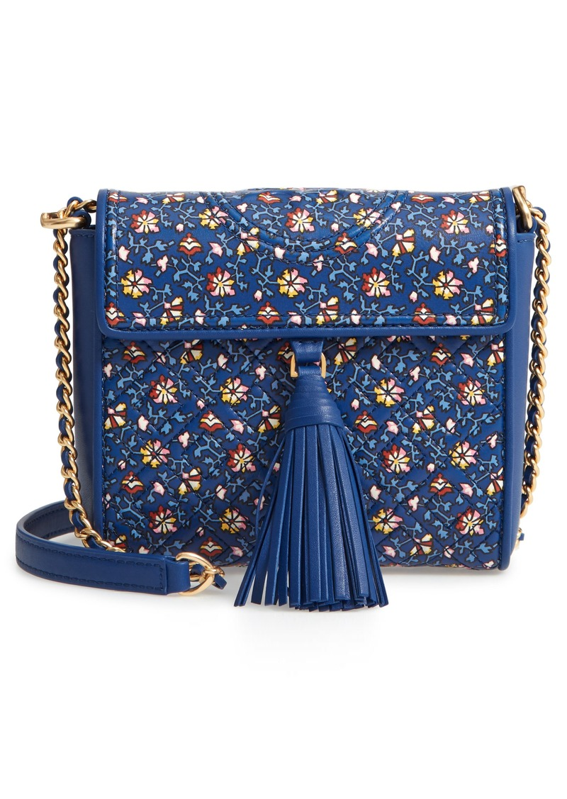 2db64891758 Tory Burch Tory Burch Fleming Print Quilted Leather Crossbody Bag ...