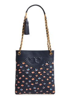 Tory Burch Fleming Swingpack Leather Crossbody Bag