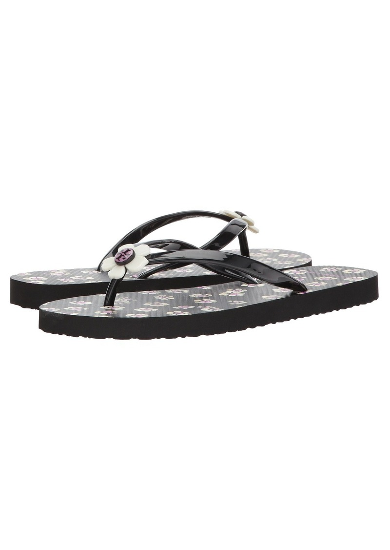 Sale Tory Burch Flower Flip Flop