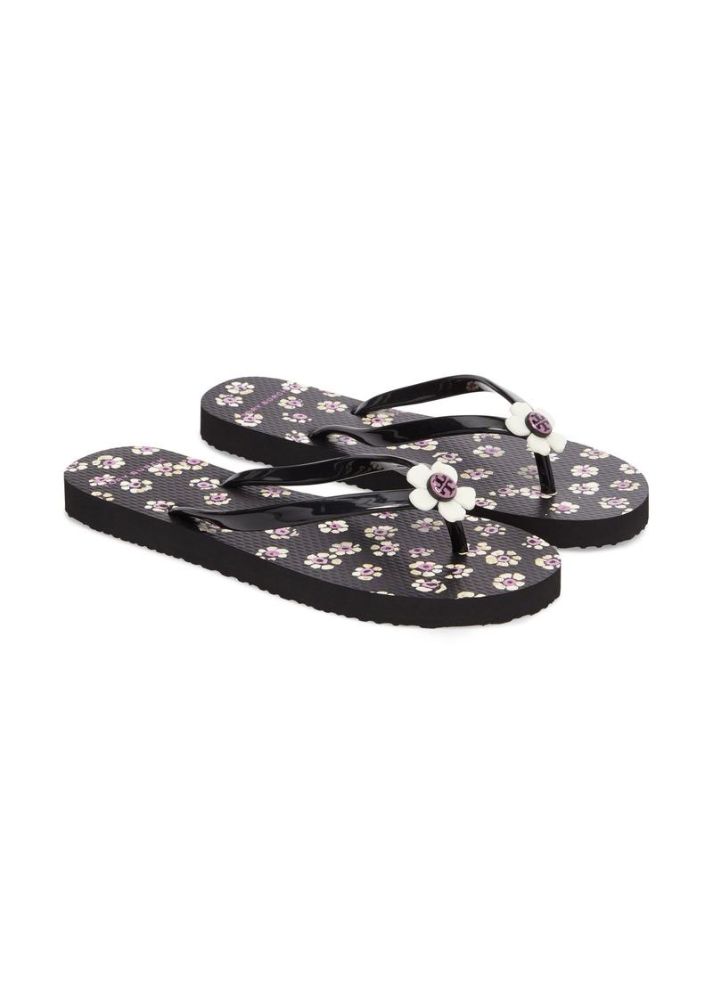 Tory Burch Tory Burch Flower Flip Flop Women Shoes
