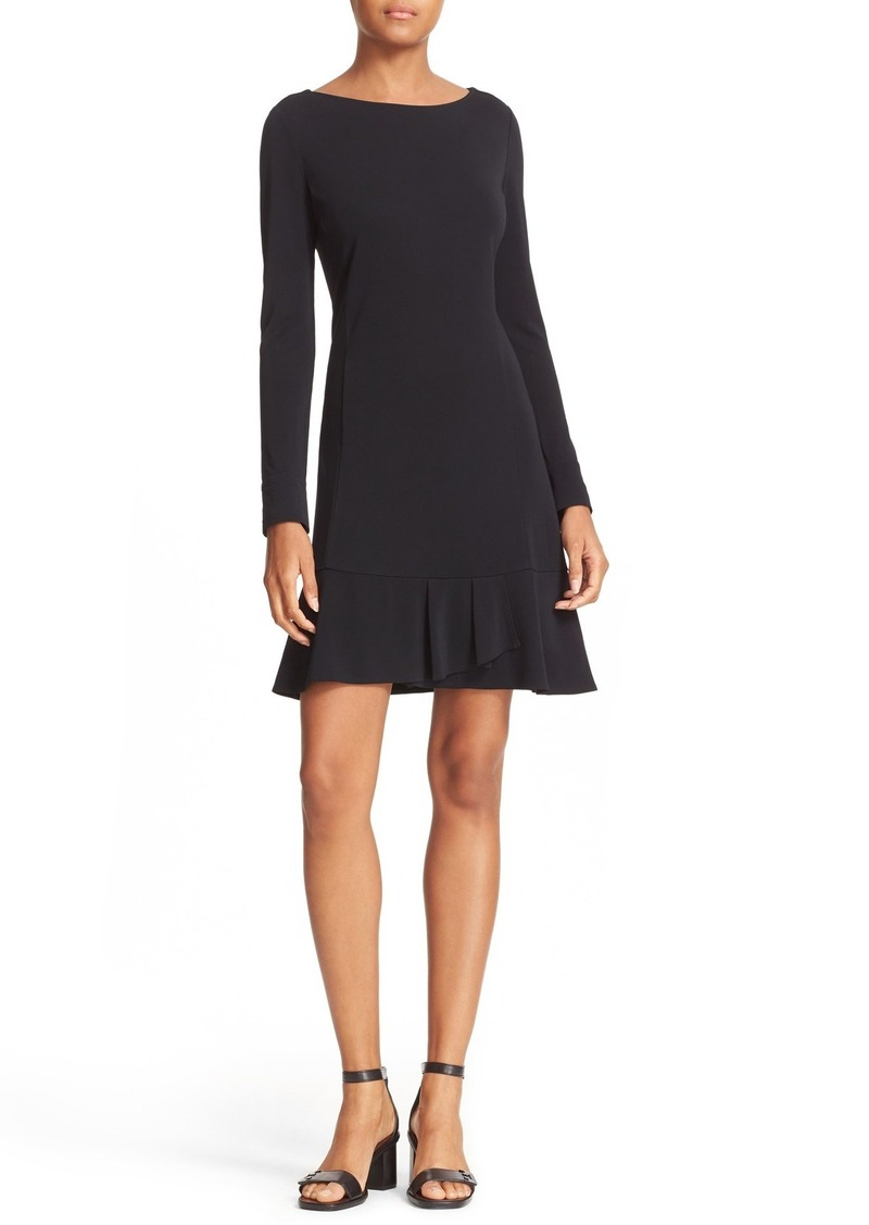 Tory Burch 'Foster' Ruffle Hem Shift Dress
