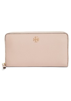 Tory Burch Frida Zip Around Leather Wallet (Nordstrom Exclusive)
