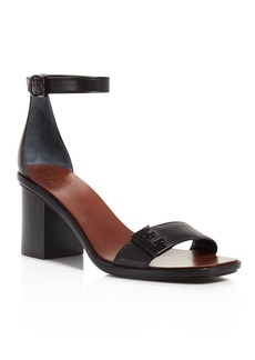 Tory Burch Gabrielle Ankle Strap Block Heel Sandals
