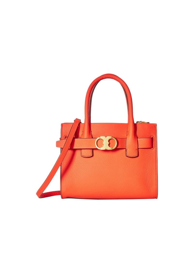 ca92315291d Tory Burch Gemini Link Leather Small Tote