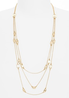 Tory Burch 'Gemini' Link Multistrand Necklace
