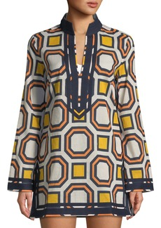 Tory Burch Geometric Printed Tory Tunic