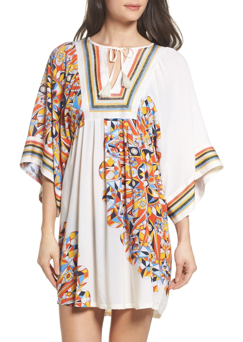 092b689c53 Tory Burch Tory Burch Geometric Tunic Cover-Up