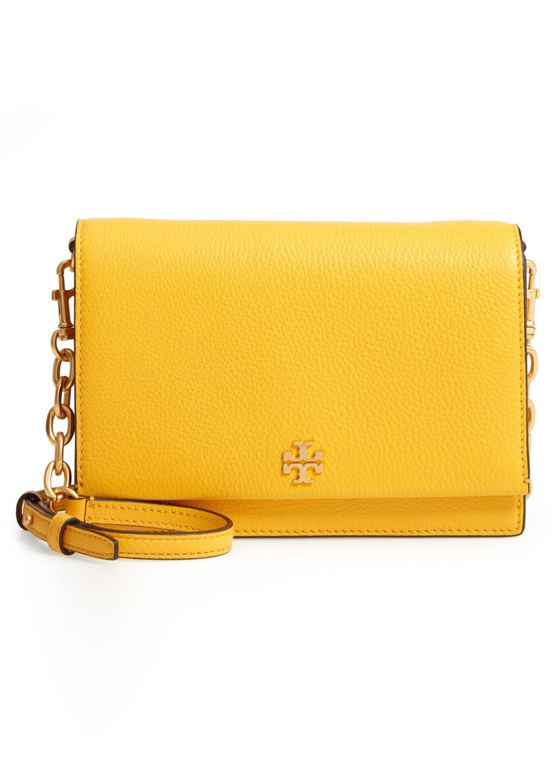 c65fca47aae On Sale today! Tory Burch Tory Burch Georgia Pebble Leather Shoulder Bag