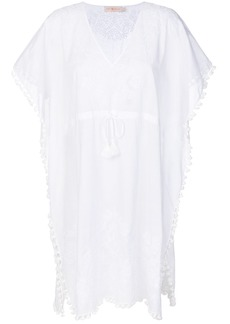 Tory Burch Georgina beach kaftan - White