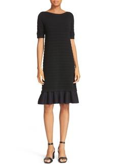 Tory Burch Giselle Textured Merino Wool Sweater Dress