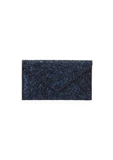 Tory Burch Glitter Envelope Continental Wallet