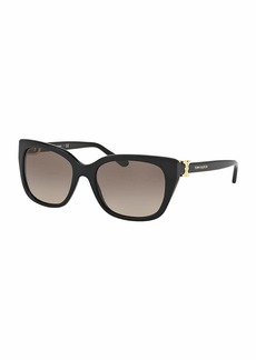Tory Burch Gradient Acetate Cat-Eye Sunglasses