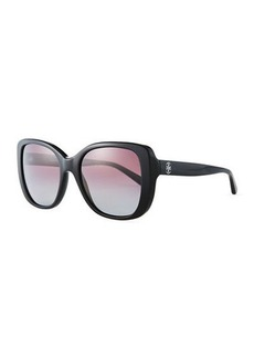 Tory Burch Gradient Rectangle Sunglasses