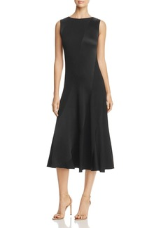Tory Burch Hailee Bias-Cut Midi Dress