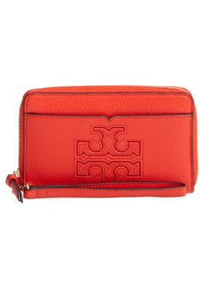 Tory Burch Harper Leather iPhone 6/6s Wristlet
