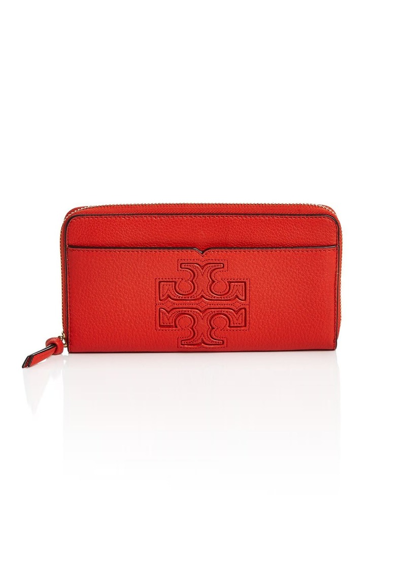 03249c4c6ff2 On Sale today! Tory Burch Tory Burch Harper Zip Continental Wallet