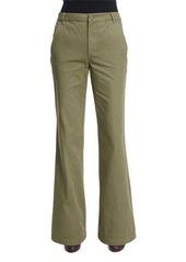 Tory Burch High-Waist Flared Trousers