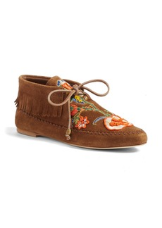 Tory Burch Huntington Moc Bootie (Women)