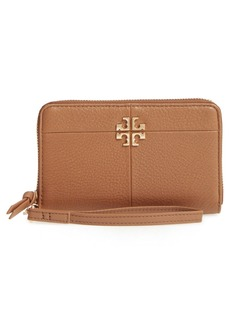 Tory Burch Ivy Leather Smartphone Wristlet
