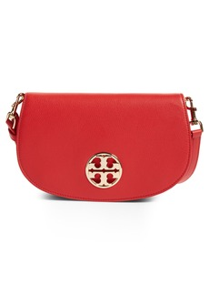 Tory Burch Jamie Convertible Leather Clutch