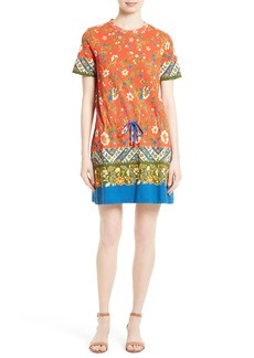 Tory Burch Jessie Print T-Shirt Dress