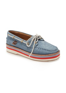 Tory Burch Joey Platform Boat Shoe (Women)