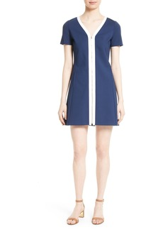 Tory Burch Kimberly Zip Front A-Line Dress