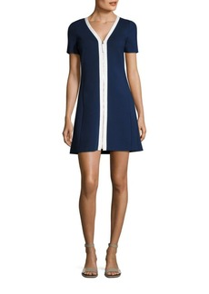 Tory Burch Kimberly Zip-Front Dress