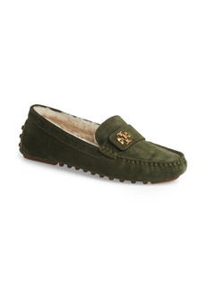 Tory Burch Kira Genuine Shearling Driving Loafer (Women)